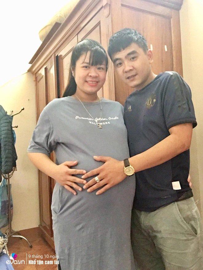 Chị Trang vượt cạn thành công ngày 16/5 vừa qua.