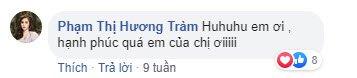 em ho huong tram bau sau mot thang cuoi, than hinh nho be 1m53 them bung bau van nong bong - 5