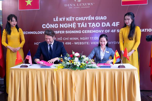 Viện thẩm mỹ Diva ký kết chuyển giao công nghệ 4F - giải pháp tái tạo da chuyên sâu - 2