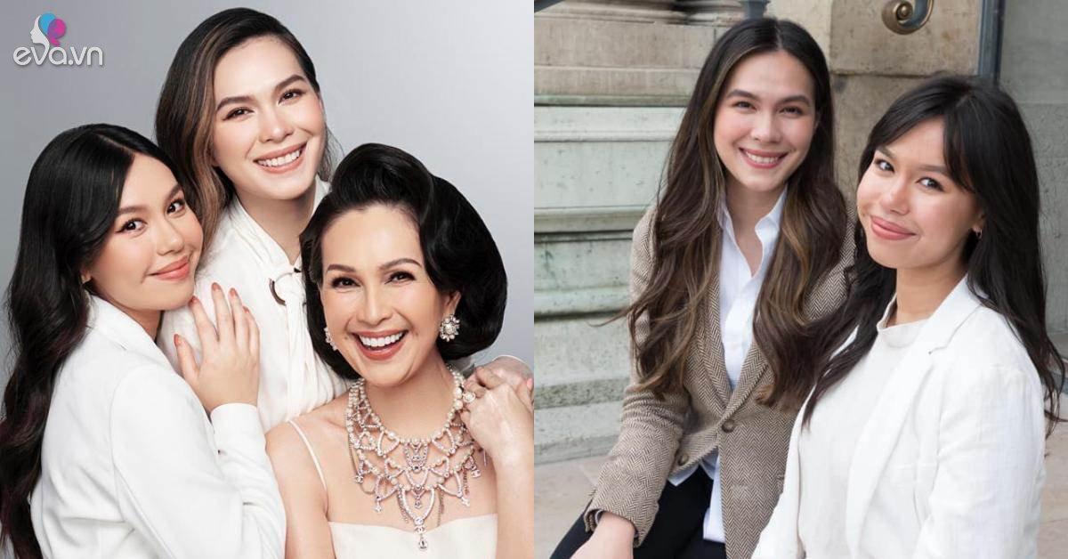 2 ái nữ nhà Diễm My 6X: Xinh như Hoa hậu còn học giỏi, thi đỗ 4 trường ở Mỹ