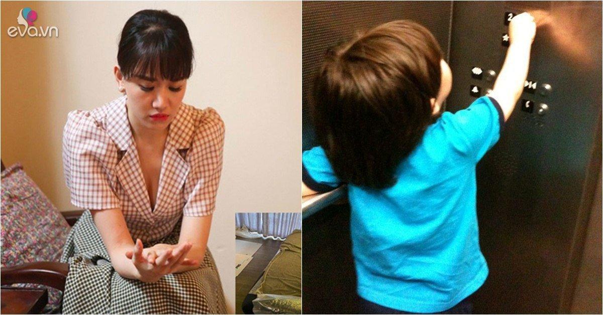 Sao Việt 24h: Hari Won hoảng hồn khi phát hiện em bé 3 tuổi đi thang máy một mình
