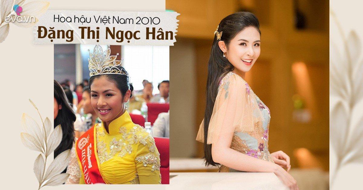 Hoa hậu Việt Nam từng bị chê da đen, răng khấp khểnh khi mới đăng quanggiờ ra sao?