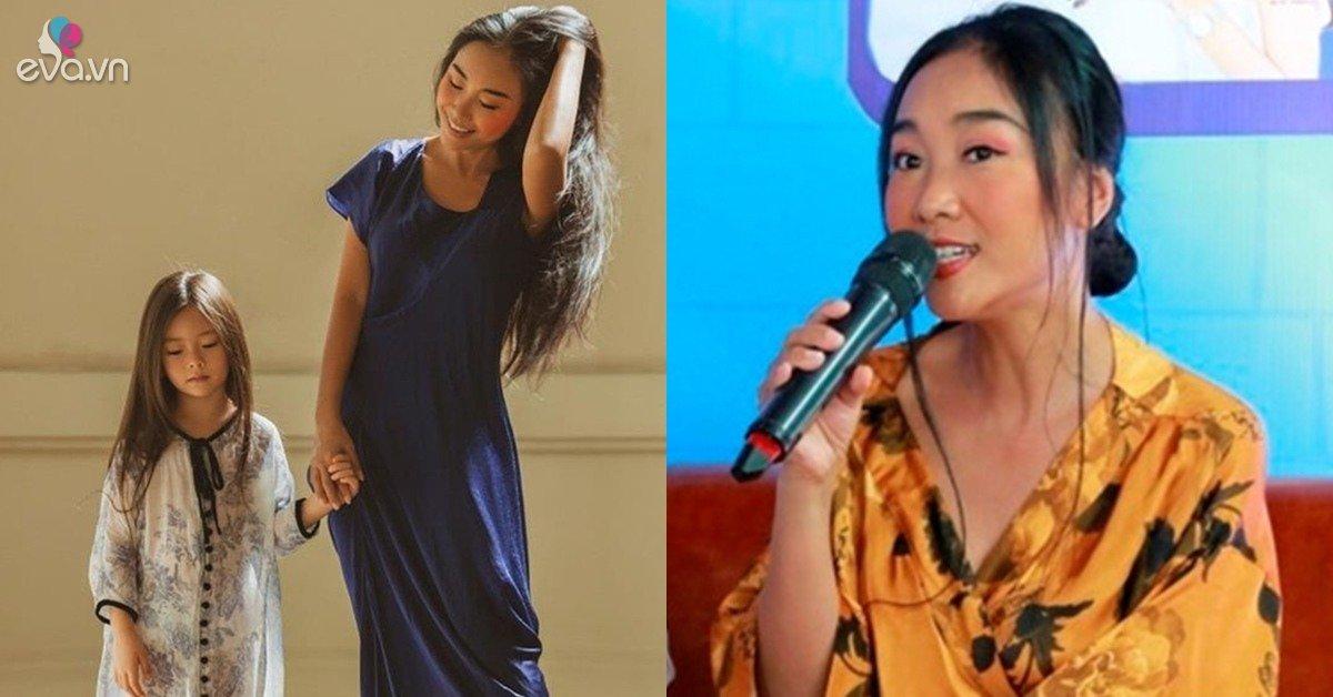 Đoan Trang nói gì khi con gái cưng thể hiện thái độ cáu giận trên sóng truyền hình?