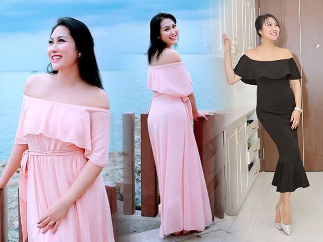 Trẻ đẹp hơn hậu giảm cân, Phi Thanh Vân tự tin diện đầm gợi cảm khoe bờ vai nõn nà