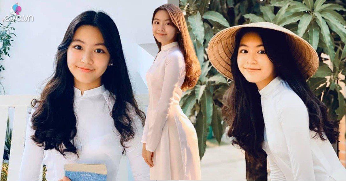Diện áo dài truyền thống quá đẹp, con gái Quyền Linh được dự đoán trở thành Hoa hậu Việt Nam