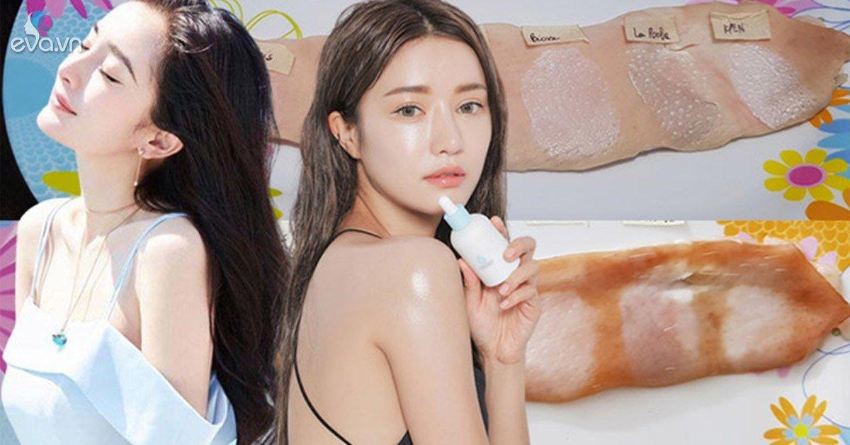 Dùng da heo kiểm tra kem chống nắng, cô gái thức tỉnh CĐM về bước dưỡng da không thể thiếu