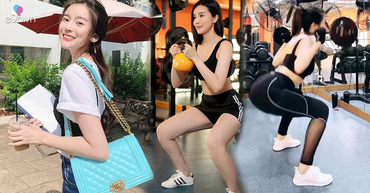 Xưa rồi tập gym nhẹ nhàng, Cao Thái Hà nâng tạ khí thế để có vóc dáng siêu chuẩn