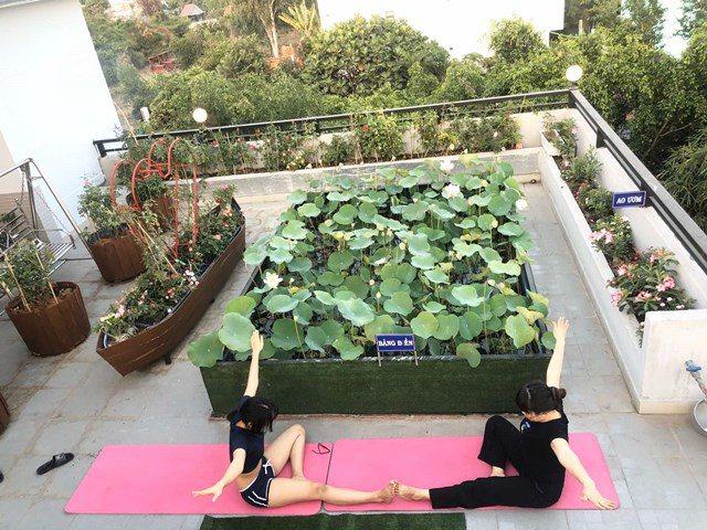 Bố Sài Gòn biến sân thượng thành vườn rau, ăn không hết phải nài nỉ hàng xóm sang lấy về - 23