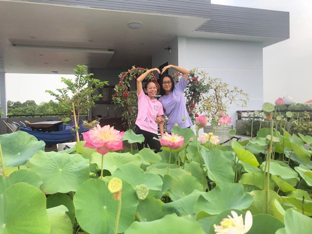 Bố Sài Gòn biến sân thượng thành vườn rau, ăn không hết phải nài nỉ hàng xóm sang lấy về - 9