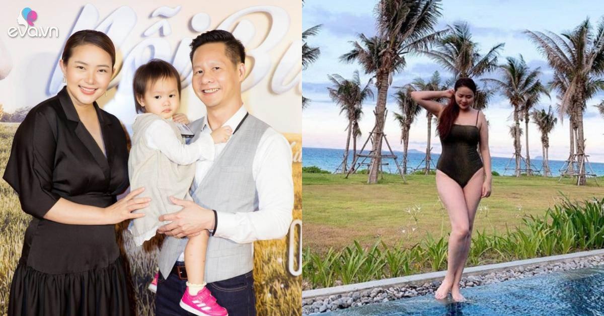 Mặc áo tắm khoe dáng, Phan Như Thảo đáp trả gay gắt khi bị chê không giảm cân sau sinh