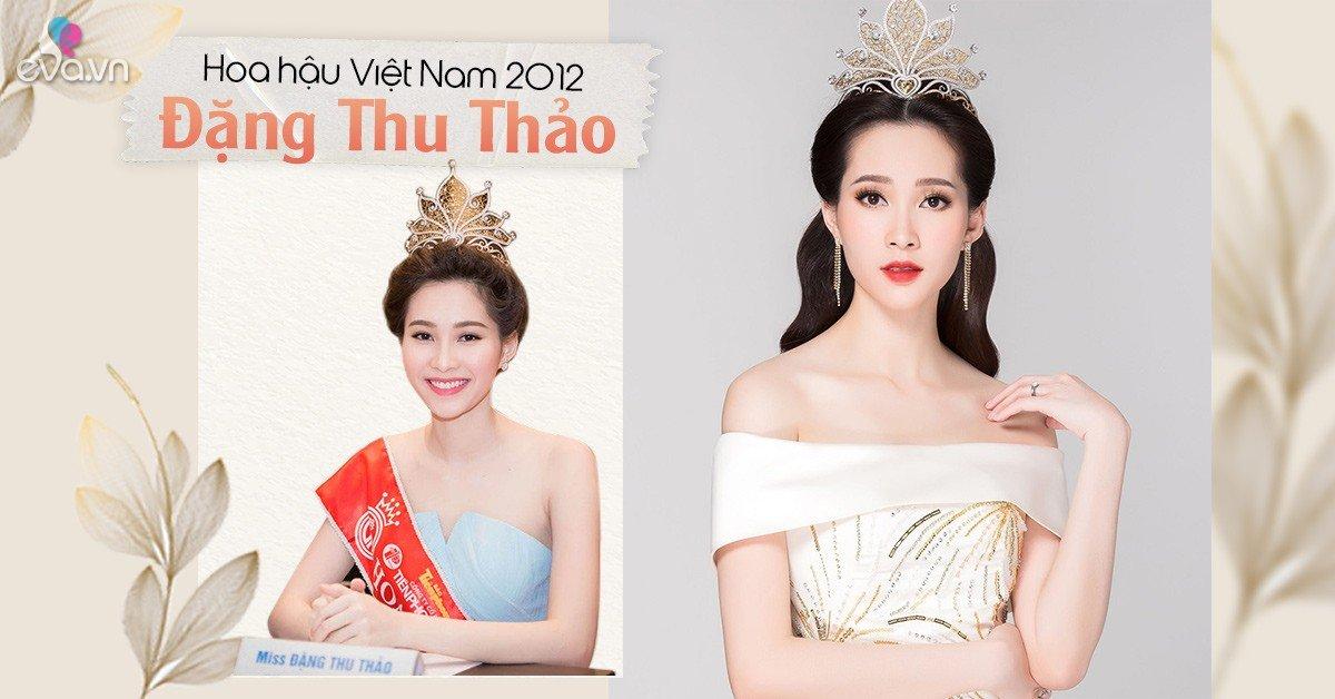 Người đẹp miền Tây đổi đời nhờ vương miện Hoa hậu Việt Nam, giờ là mẹ 2 con viên mãn