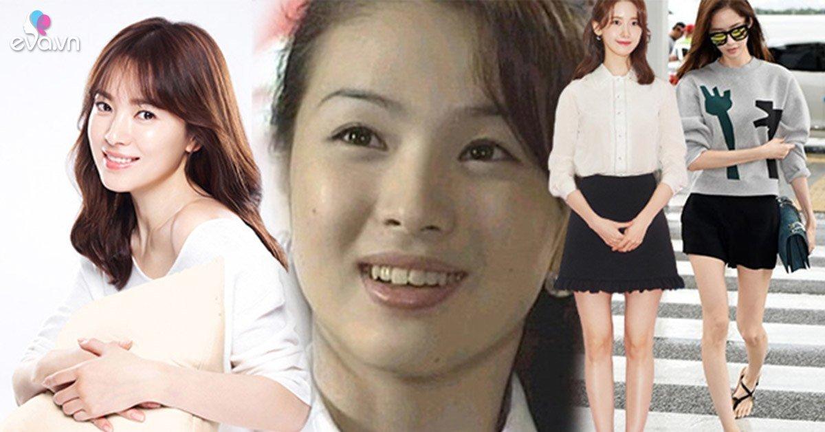 """Mỹ nhân Hàn Quốc """"lột xác"""" không dao kéo: tút mặt Vlive, chỉnh chân vòng kiềng tự nhiên"""
