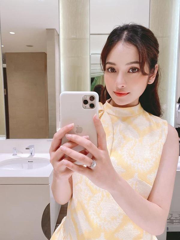Bầu song thai đã 4 tháng, bà xã Dương Khắc Linh vẫn giữ nguyên làn da láng mịn, tươi tắn - 4