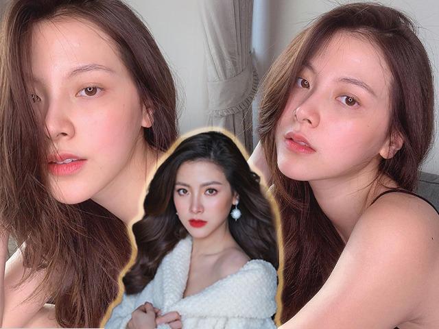 Nữ thần đẹp nhất Thái Lan khoe làn da trắng hồng tự nhiên, bí kíp không phải nhờ dưỡng da