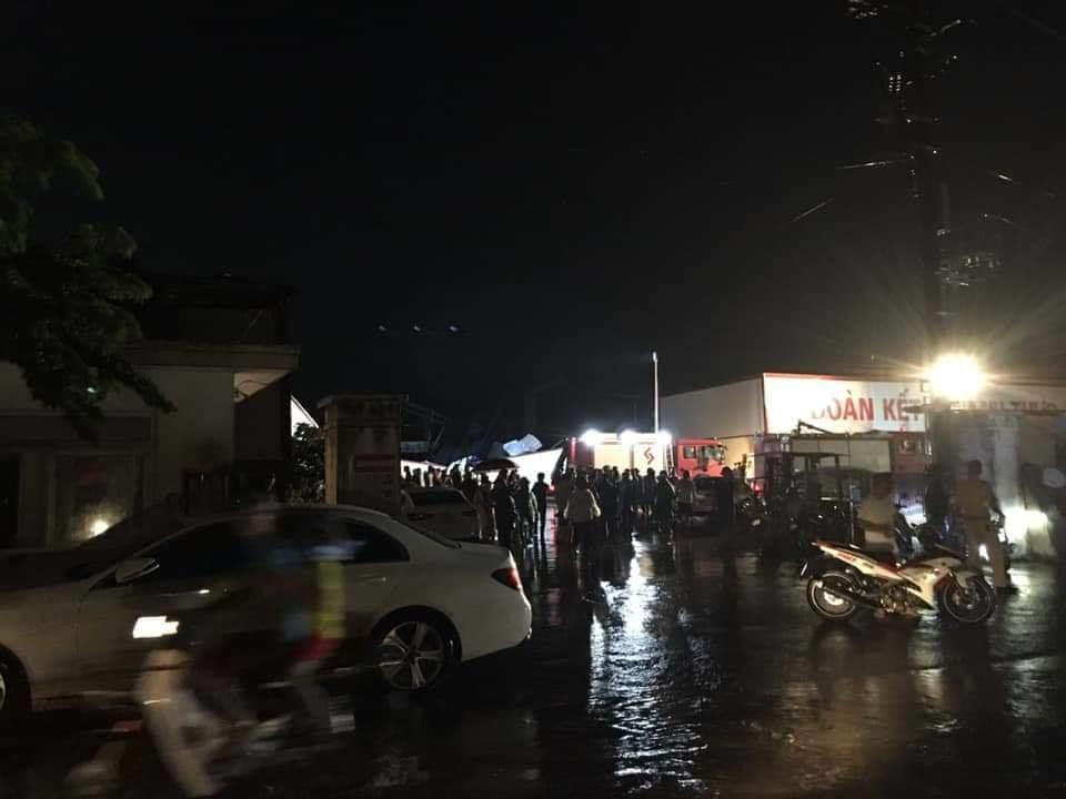 Lốc xoáy kinh hoàng ở Vĩnh Phúc, 3 người tử vong, khoảng 20 người bị thương nhập viện