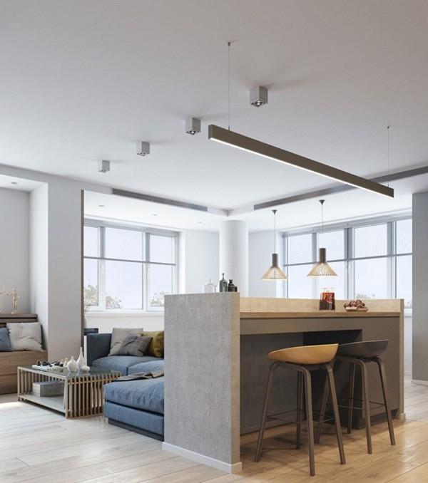 Đừng lo không hiểu biết nhiều về kiến trúc chung cư, sau đây là mẹo để bạn có căn chung cư 70m2 đẹp thời thượng như ý - ảnh 2