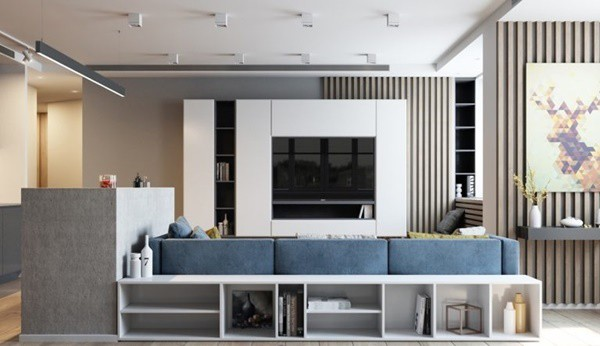 Đừng lo không hiểu biết nhiều về kiến trúc chung cư, sau đây là mẹo để bạn có căn chung cư 70m2 đẹp thời thượng như ý - ảnh 4
