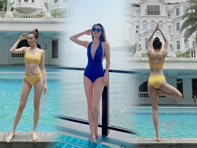 Đi bơi vẫn mê tập yoga, mỹ nữ Vũng Tàu đi xe 70 tỷ không có dáng đẹp mới lạ!