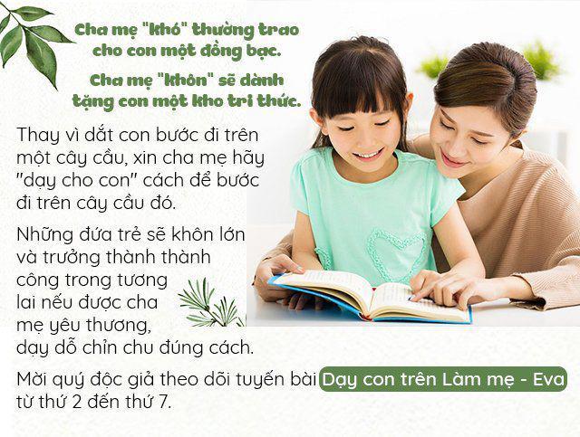 truoc 6 tuoi, con gai va con trai can phai duoc nuoi day theo cach khac nhau - 1