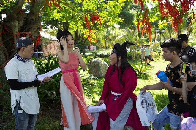 le giang, elly tran, nam thu, lam khanh chi dong web-drama cho le duong bao lam - 1