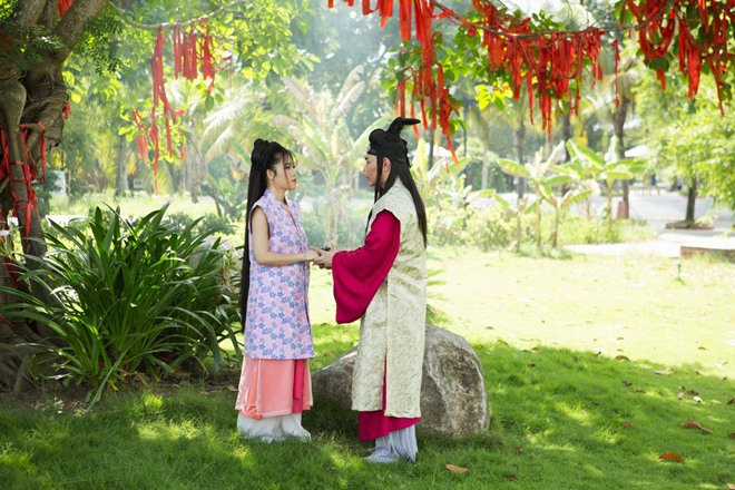 le giang, elly tran, nam thu, lam khanh chi dong web-drama cho le duong bao lam - 8