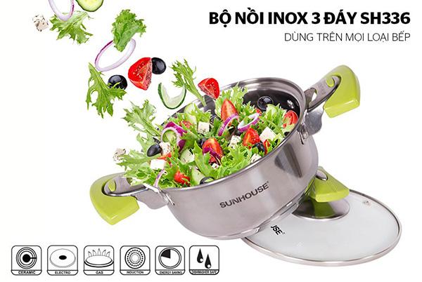 5 bộ nồi/chảo inox dùng cho bếp từ đang có giá giảm đến 50%++ khi mua sắm trực tuyến - 3