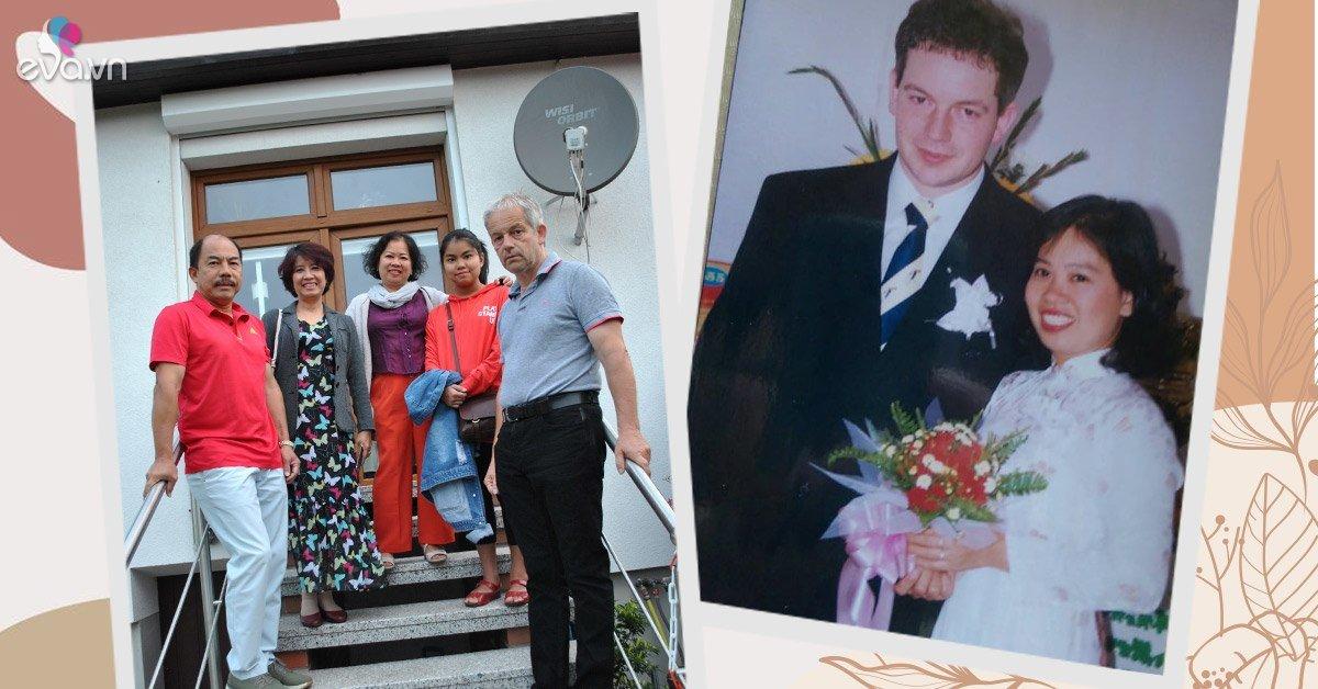 Mẹ Việt làm dâu Đức: Cưới ở nơi sang nhất Sài Gòn, được mẹ chồng 90 tuổi giặt đồ cho