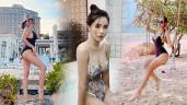 Đại hội những bà mẹ nhiều con nhất nhì Vbiz khoe dáng với bikini: Jennifer Phạm, Hải Băng đối đầu