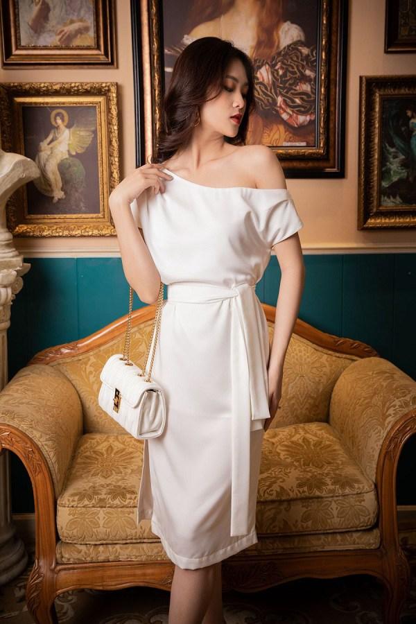 Kiểu váy dịu mát được hội mỹ nhân Thái mê mẩn, diện vào ngày nắng còn thanh lịch hết mực - 14