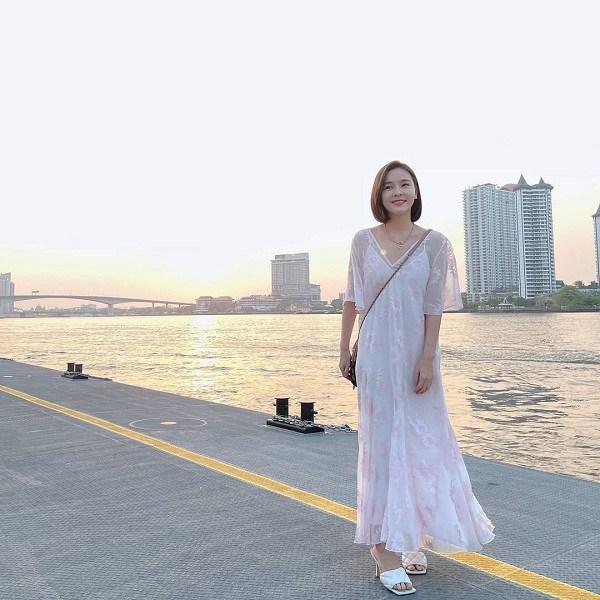 Kiểu váy dịu mát được hội mỹ nhân Thái mê mẩn, diện vào ngày nắng còn thanh lịch hết mực - 7