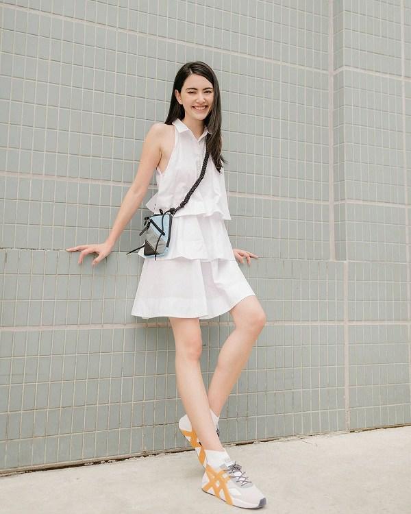 Kiểu váy dịu mát được hội mỹ nhân Thái mê mẩn, diện vào ngày nắng còn thanh lịch hết mực - 3
