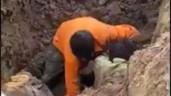 """Phát hiện người đàn ông """"dưới lòng đất"""" ở Trung Văn (Hà Nội) và sự thật bất ngờ"""