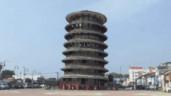 Kiến trúc đặc biệt của tháp nghiêng ở Malaysia