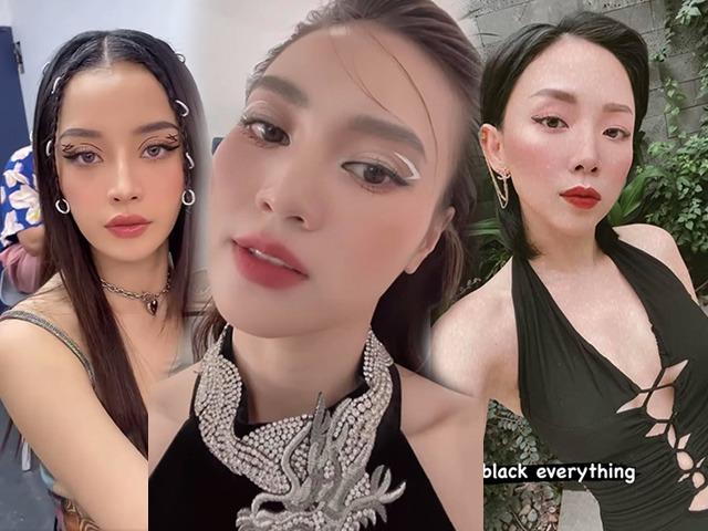 Hội mỹ nhân Việt mê mẩn kiểu kẻ eyeliner lơ lửng, dự đoán là hot trend cho hè này