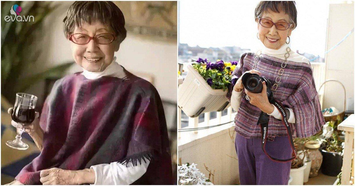 Cụ bà người Nhật 71 tuổi làm việc, 96 tuổi yêu đương, thích rượu vang vẫn sống tới 106 tuổi