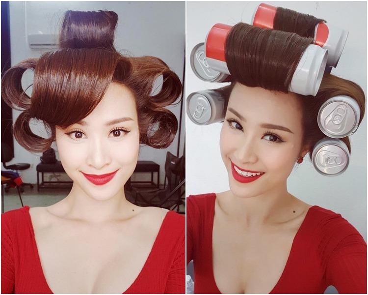 Phạm Băng Băng sắm vũ khí làm tóc xoăn bồng bềnh ngay tại nhà, sao Việt cũng chẳng kém cạnh - 7