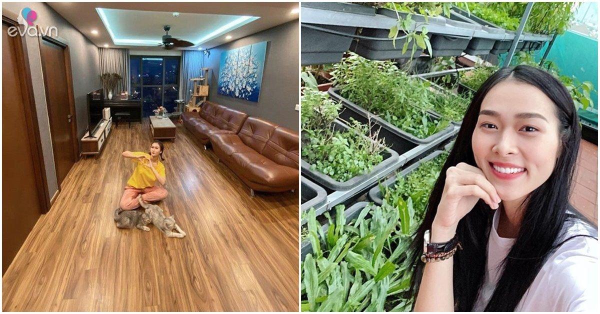 Nhà Celeb: Hơn 20 tuổi làm mẹ đơn thân, Hương Giang, Diệp Bảo Ngọc giờ ở nhà sang cùng con