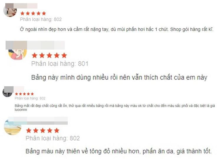 Review bảng phấn mắt nội địa Trung hot hit, có bảng giá chưa đến 80k - 5