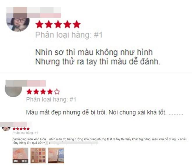 Review bảng phấn mắt nội địa Trung hot hit, có bảng giá chưa đến 80k - 7