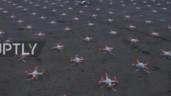 Sửng sốt với màn trình diễn ánh sáng trên bầu trời Nga nhân ngày Du hành vũ trụ