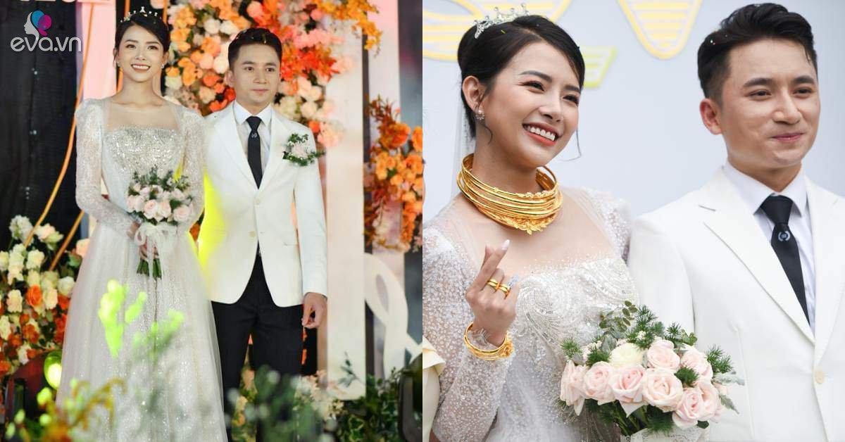 Vợ Phan Mạnh Quỳnh đẹp không góc chết trong đám cưới, hỏi sao chồng không si mê tận 6 năm