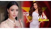 """Nguy cơ Khánh Vân bị đại diện Thái Lan """"áp đảo"""" tại Miss Universe 2020 với núi đồ hiệu"""