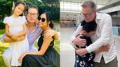 Mẹ khóc tiễn Đoan Trang rời khỏi Việt Nam, chồng Tây xúc động nhắn nhủ bố mẹ vợ