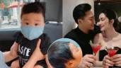 Con trai Hoà Minzy lúc mới chào đời: Tóc dày, mũi cao, nặng gần 4kg vẫn được sinh thường