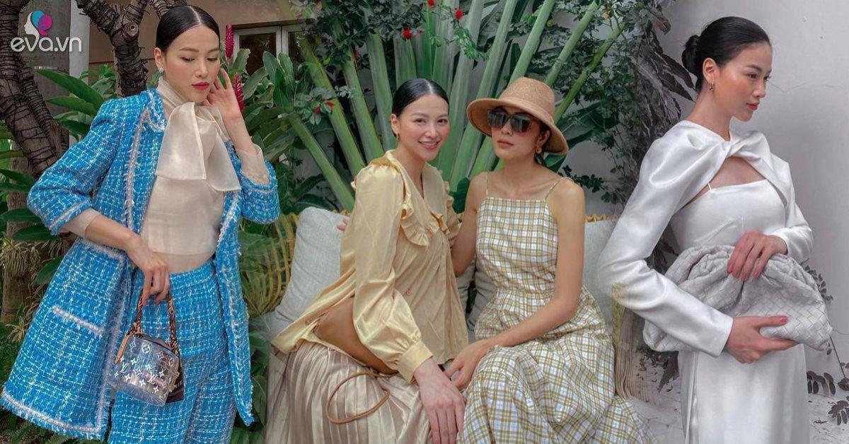 Hoa hậu duy nhất trong hội bạn Tăng Thanh Hà, gu thẩm mỹ và đồ hiệu sang như bà hoàng