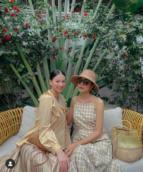 Hoa hậu duy nhất trong hội bạn Tăng Thanh Hà, gu thẩm mỹ và đồ hiệu sang như bà hoàng - 1