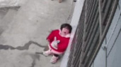 Bé gái bất lực gọi bố mẹ qua camera và câu chuyện cảm động phía sau