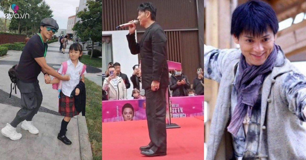 Tài tử phim Hoàng Phi Hồng đình đám Cbiz: Mặc quần nhàu nát đi sự kiện, một mình nuôi con