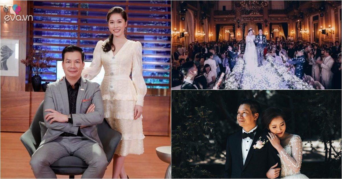 Sau 3 năm, Shark Hưng và vợ đẹp hé lộ loạt ảnh như mơ trong đám cưới ở nước ngoài