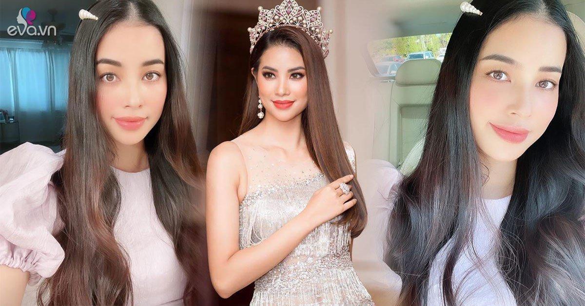 Phạm Hươngđi họp phụ huynh đẹp như công chúa, CĐM xao xuyến một điểm vẫn chuẩn Hoa hậu quốc dân
